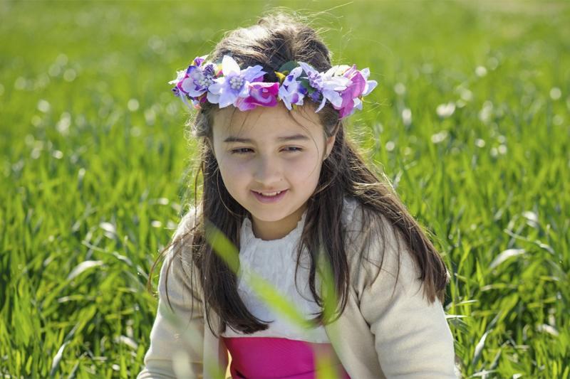 Diademas de flores para comunión en Nita Complementos