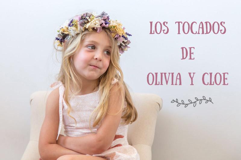 Los tocados de Olivia y Cloe ¡también para niñas!