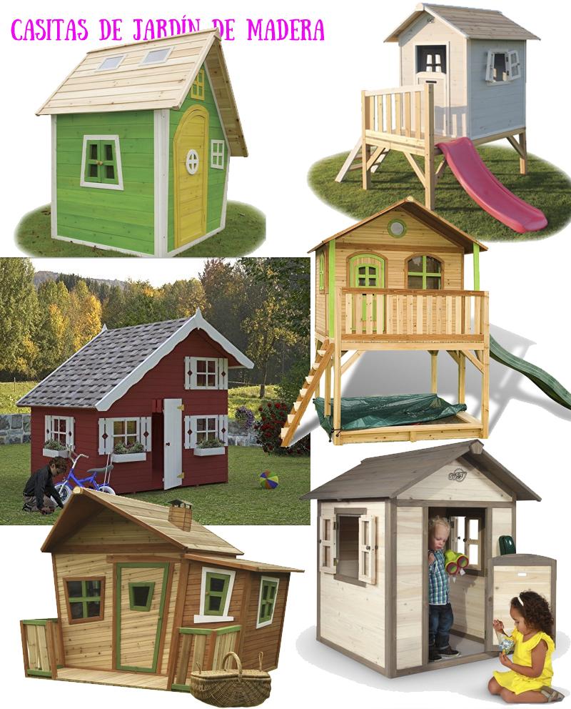 casitas de jardin de madera
