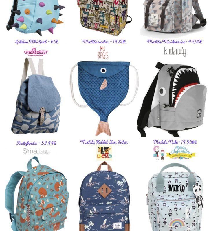 Las mochilas más cuquis para los niños
