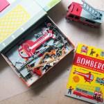 Parque de bomberos: un libro para leer y jugar