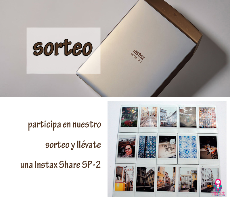 sorteo Instax Share Sp-2