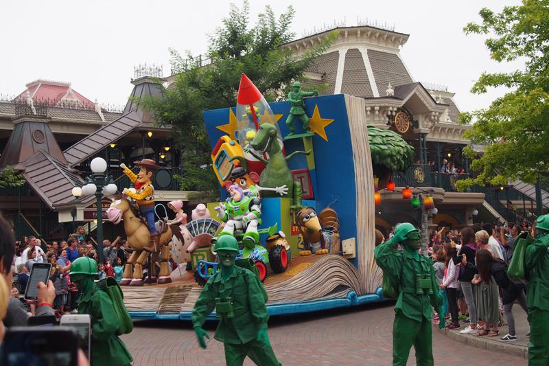 El parque Disney en Disneyland París