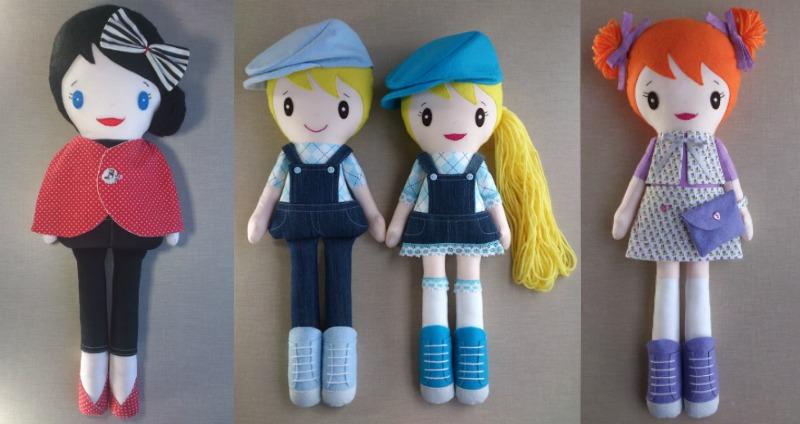 BlueButterfliesWorld muñecos hechos a mano