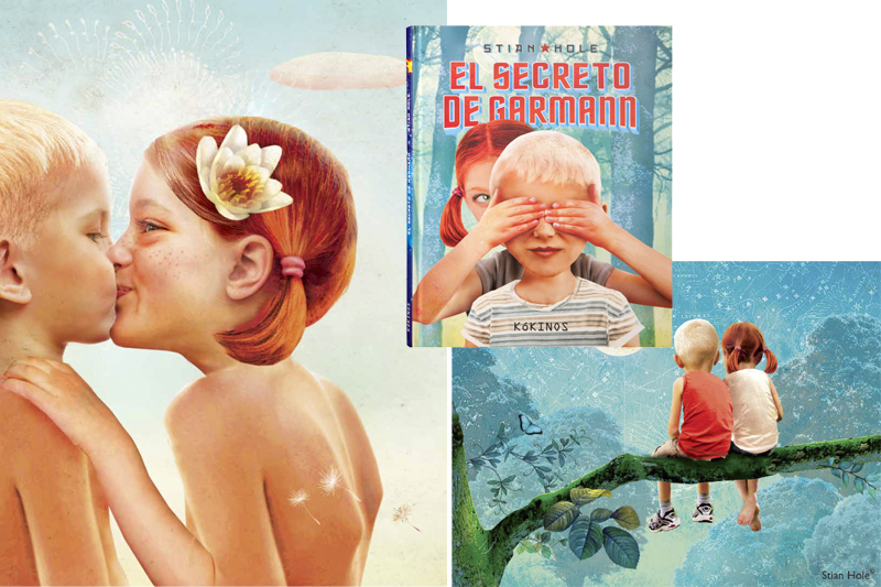 Libros infantiles para San Valentín. el secreto de garmann