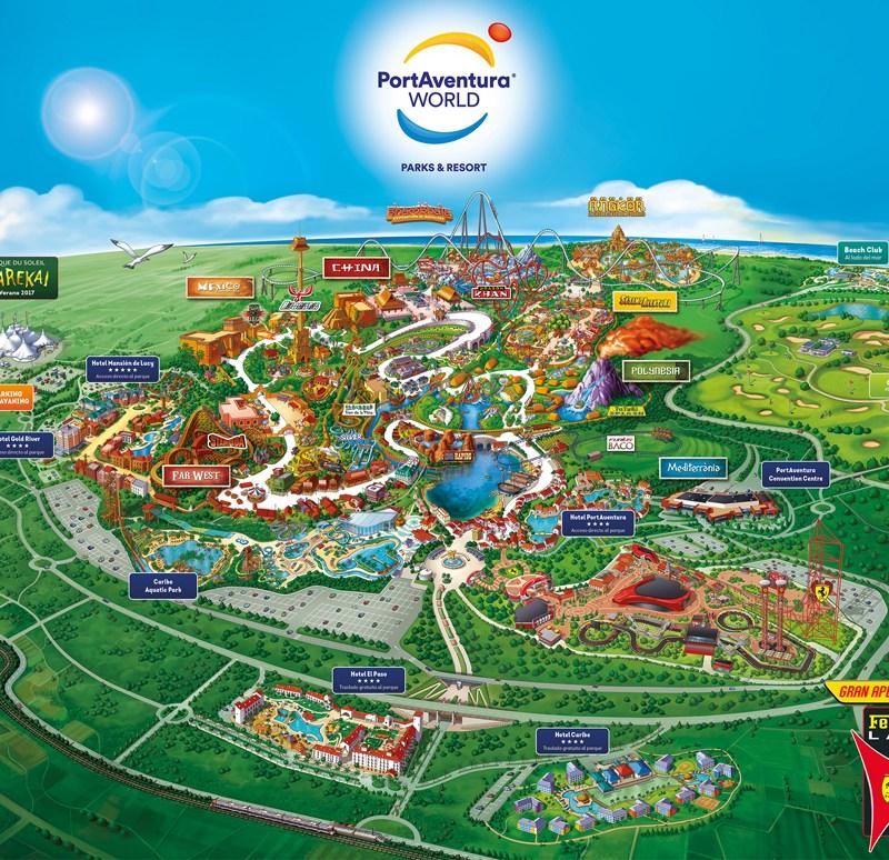 Las atracciones de Port Aventura (pensando en los niños)