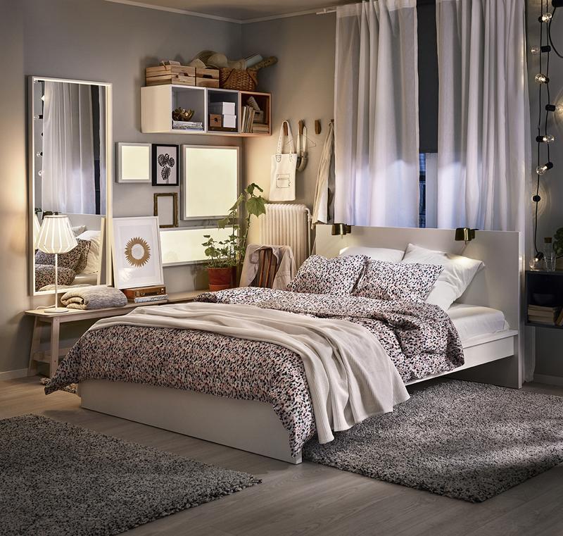 Un vistazo a los dormitorios del nuevo cat logo de ikea 2018 - Dormitorio malm ikea ...