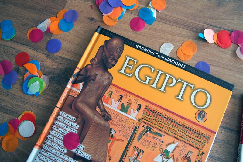 Libros con realidad aumentada para conocer las grandes civilizaciones EGIPTO