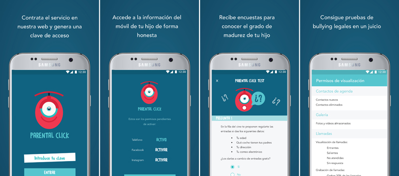 Parental click primera app antibullying