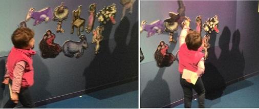 Magneti alla mostra di Chagall