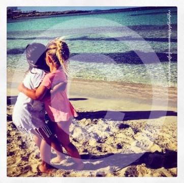 bambini a Formentera