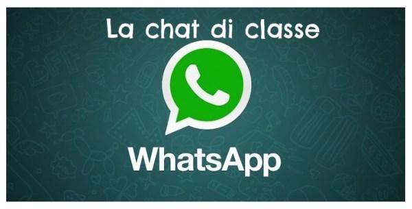 chat di classe whatsapp