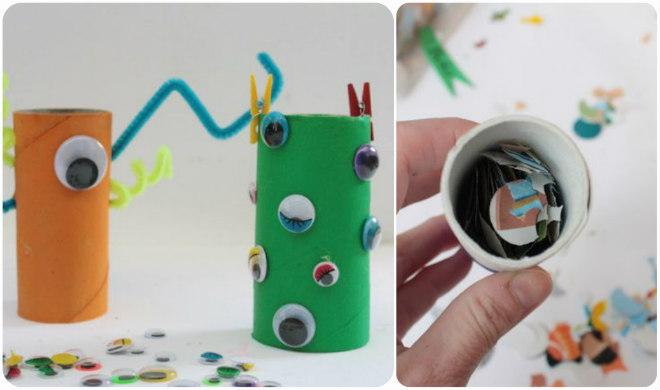 Giochi Creativi Per Bambini Con I Rotoli Di Carta Igienica