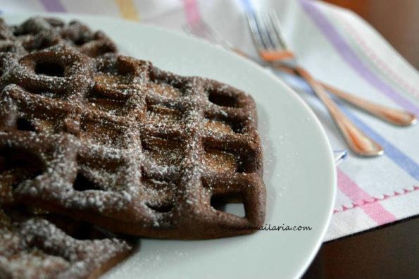 waffle al cacao