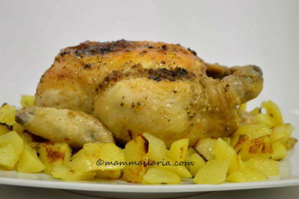 pollo arrosto fatto in casa