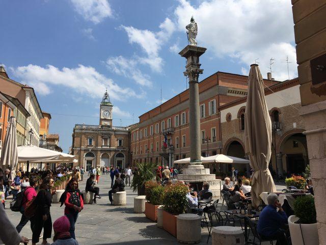 Ravenna MammaInViaggio Piazza del Popolo