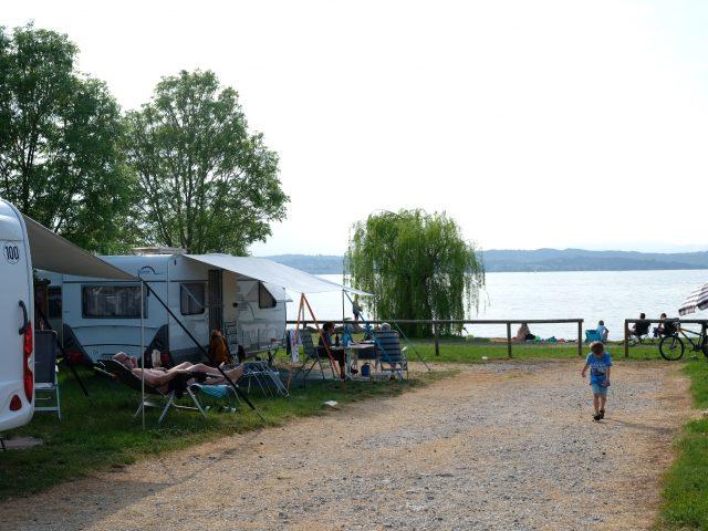 Camping san Francesco Desenzano Camper MammaInViaggio
