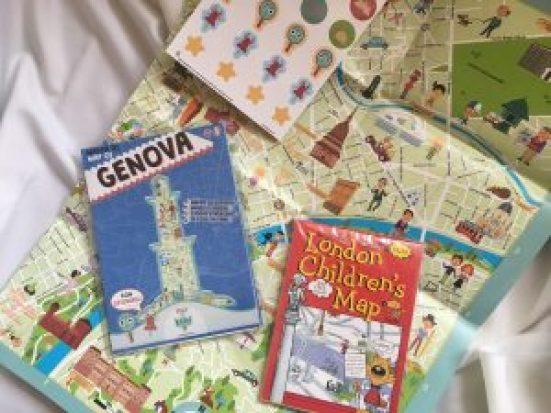 Cartine bambini per viaggio MammaInViaggio