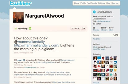 "The Mammalian Daily ""Lightens The Morning Cup o' Gloom,"" says Margaret Atwood"