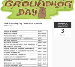 Full schedule of events released for 2018 Groundhog Day celebrations