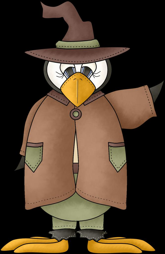 The Penguin as Scarecrow