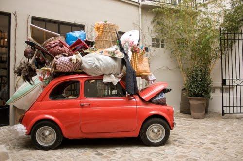 valigie macchina piccola