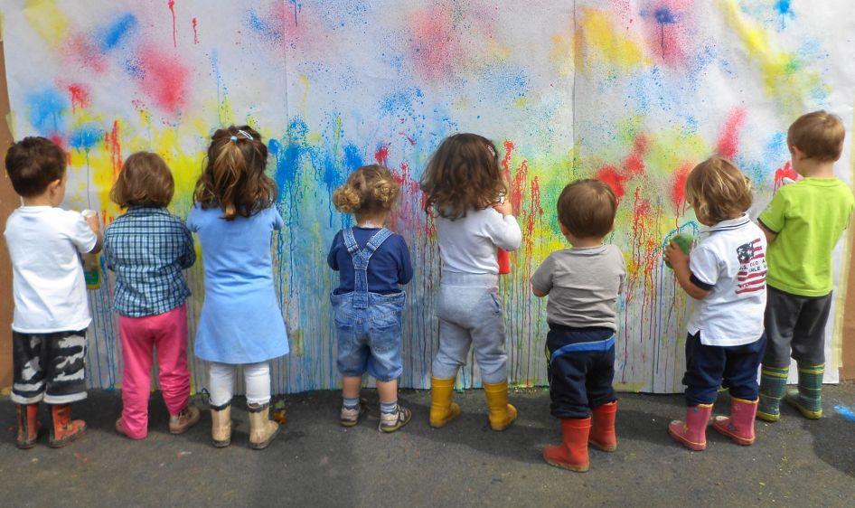 insegnare l'arte ai bambini