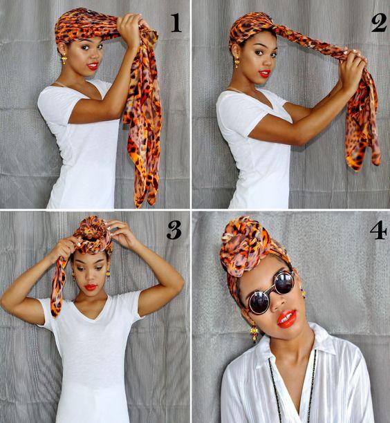foulard capelli
