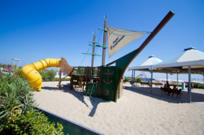 Spiagge family friendly Italia