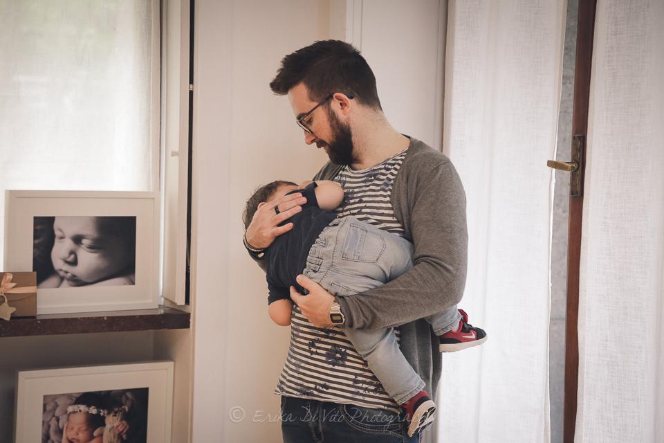 a cura del papà