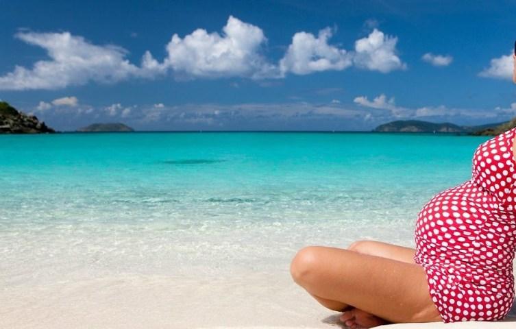 gravidanza ai caraibi