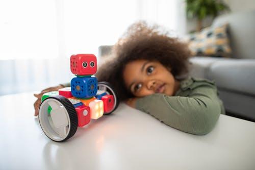 cameretta tema robot