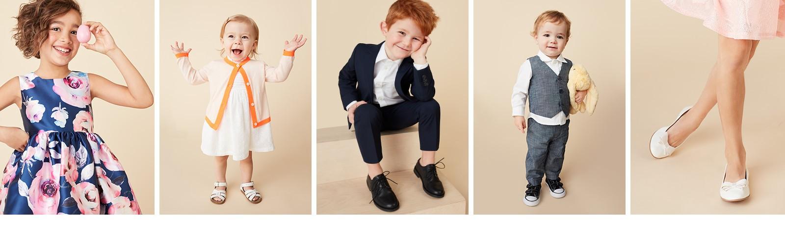 come vestire i bambini per una cerimonia