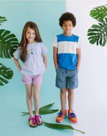 moda estate in città bambini