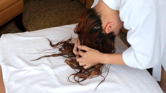 capelli mossi senza crespo