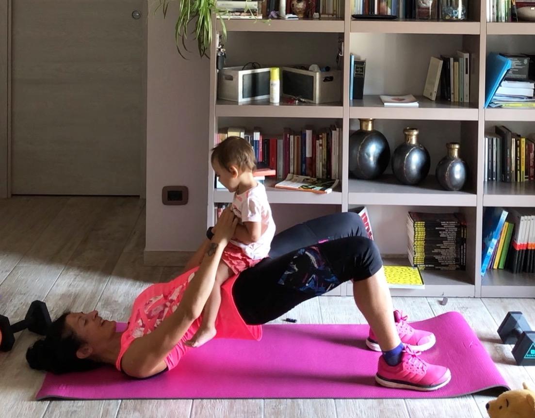 come mantenersi in forma con i figli