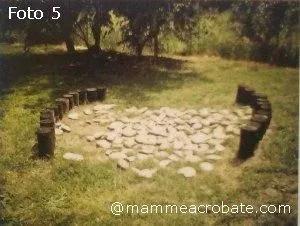 Spazi naturali di gioco nel giardino della scuola