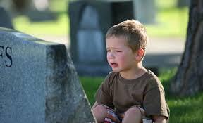 lutto per i bambini