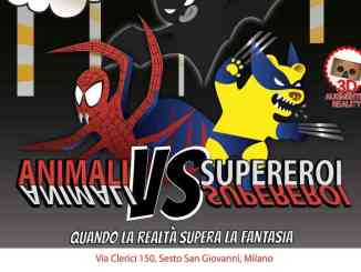 animali vs supereroi