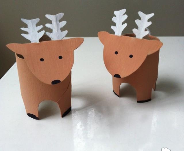 Come Fare Renne Natale Con Rotoli Carta Igienica Mamme