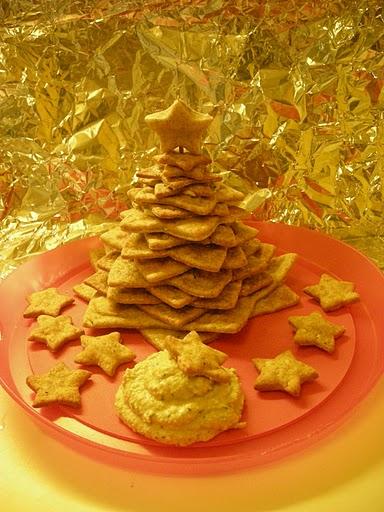 Albero di Natale con pasta brisée