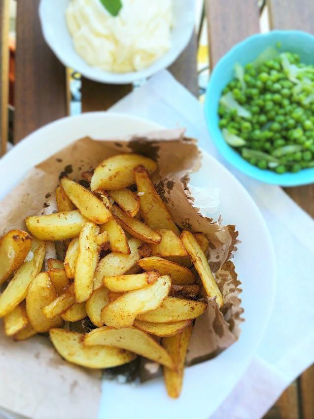 chips piselli