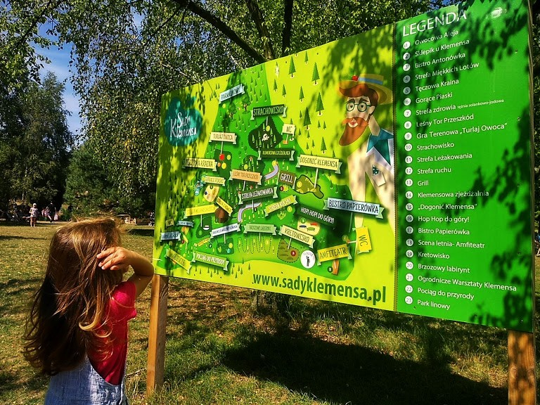 baśniowe sady Klemensa mapa