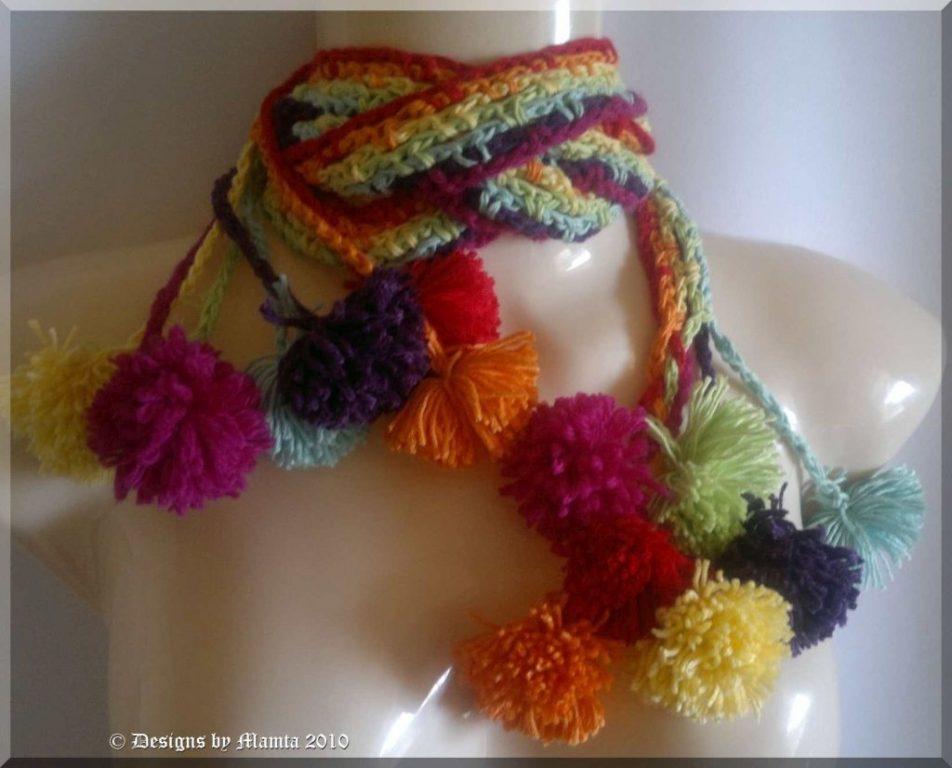 Bohemian Crochet Scarf