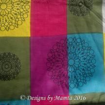 Colorful Indian Block Print Fabric