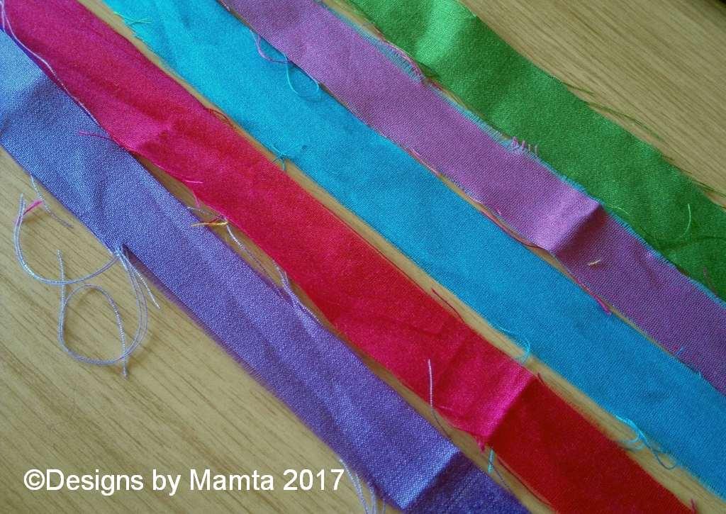 Colorful Sari Ribbons