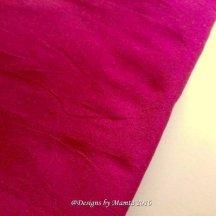 Cranberry Red Dupioni Silk Fabric