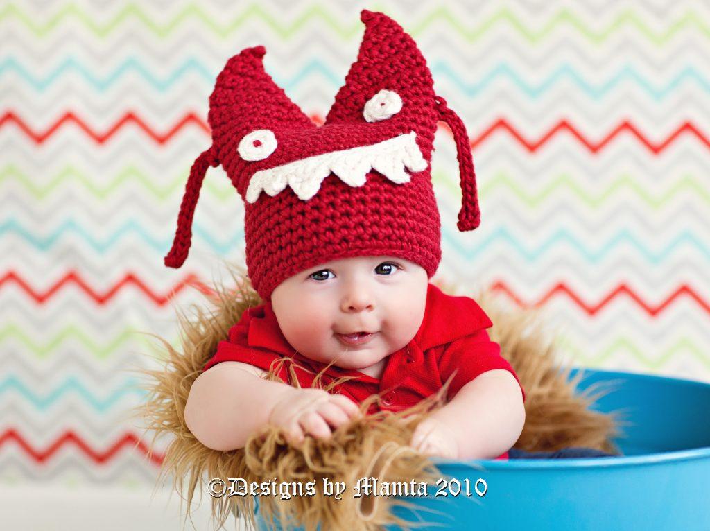 Crochet Monster Hat