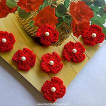 Four Petals Crochet Flower Pattern