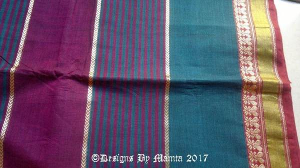 Hand Woven Indian Fabric